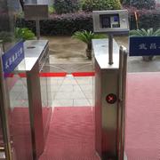 武汉铁路局武昌单身公寓通道闸系统完成。
